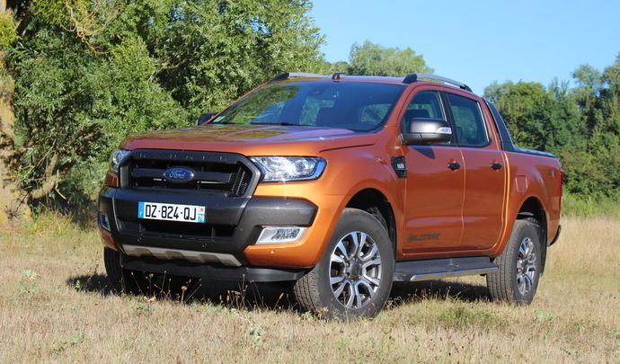 essai vid o ford ranger 2016 force sp ciale. Black Bedroom Furniture Sets. Home Design Ideas