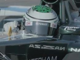 Vidéo: Embarquez au volant de la CT01 avec Kovalainen.