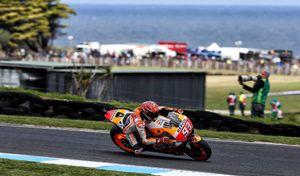 MotoGP - Australie J.3: Márquez fait le break aux forceps