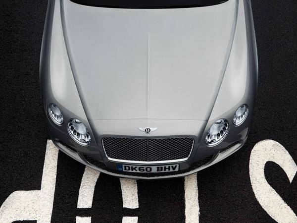 Quelques détails sur le nouveau V8 Bentley