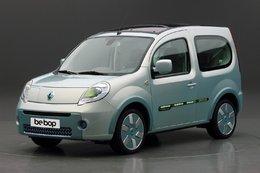 Un prototype électrique de Renault : le Kangoo be bop Z.E.