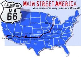 Réponse à la question du jour n°66 : quel chemin emprunte la célèbre « Route 66 » ?