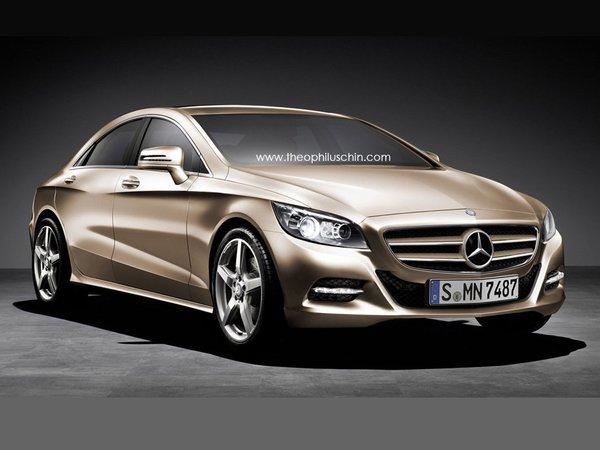 Future Mercedes CLC/CLE : comme ça ?