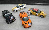Les nouvelles GT4 en piste