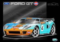 Focus FIA GT3: la Ford GT débarque
