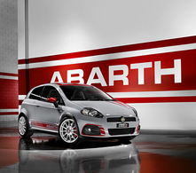 L'Abarth Grande Punto SuperSport à Genève