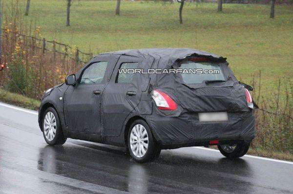 Spyshot : la prochaine Suzuki Swift est de sortie