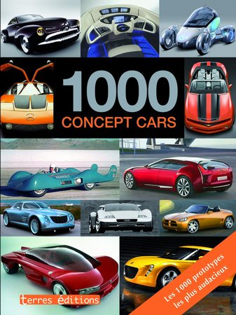 Coin lecture : l'ouvrage 1000 Concept cars