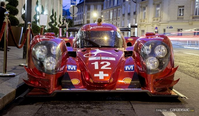 Photos du jour : Lola B12/60 Rebellion Racing