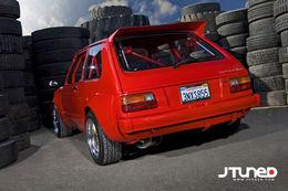 Toyota Starlet Vtec, 260 chevaux hurlants à 10000 trs/min