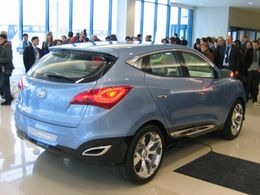 Hyundai  ix-onic Concept en vrai !