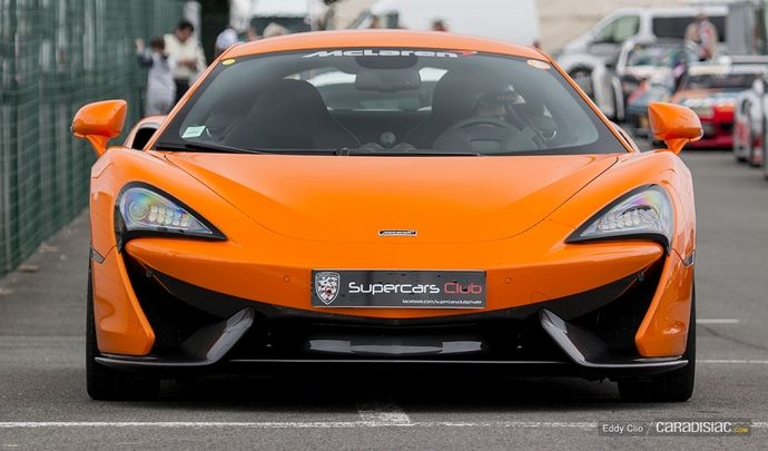 Photos du jour : McLaren 570s (Sport et Collection)