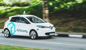 A Singapour, les taxis deviennent autonomes