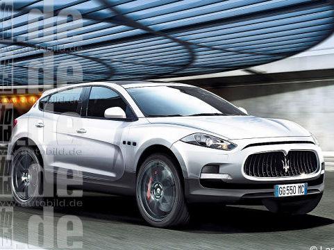 Futur SUV Maserati : comme ça ?