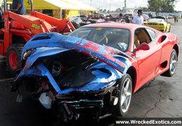 Crash sur circuit : un cauchemar pour un Ferrariste modèle