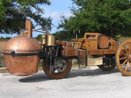 Ce qui vous attend à Rétromobile 2011 - Le fardier de Cugnot (1769)