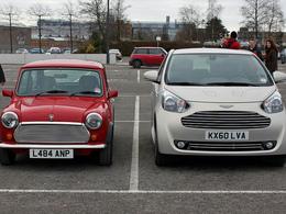 Pas si petite que ça, l'Aston Martin Cygnet ?