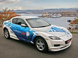 """La Mazda RX-8 Hydrogen RE louée en Norvège : le projet """"Hydrogen Road of Norway"""""""