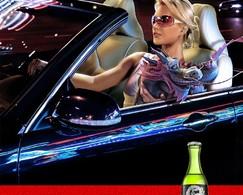 Russian Style : boire de l'alcool au volant de son cabriolet le soir, c'est classe