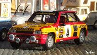 Miniature : 1/43ème - RENAULT 5 Turbo