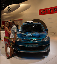 Salon de Londres : Citroën C-Crosser Surf en direct