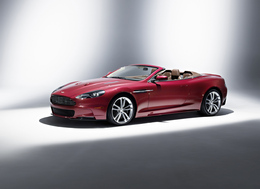 Aston Martin DBS Volante : earth wind and fire