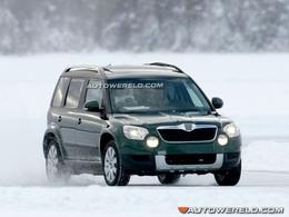 Škoda : son Yeti débusqué dans le Grand Nord
