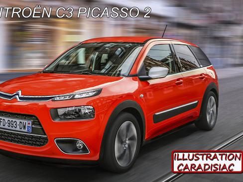 Le futur Citroën C3 Picasso plus monospace que SUV