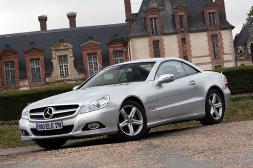 Essai vidéo - Mercedes SL : SL rafraichi.