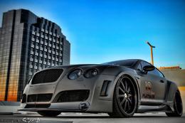 Bentley Continental GT Platinium Motorsport, avec un peu de Lamborghini en prime