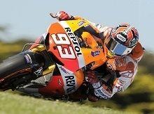 Moto GP - Australie J.2: Marquez battu pour le pole mais en route pour le titre