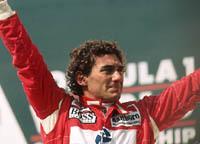 Ouverture de l'exposition Ayrton Senna