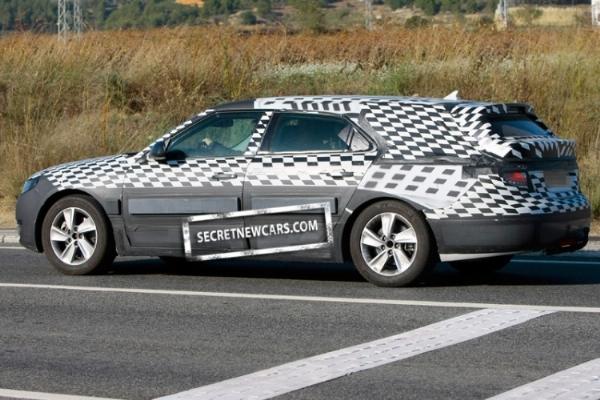 Spyshot incertain : Saab 9-5 Estate