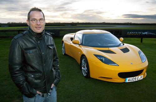 Villeneuve en visite chez Lotus