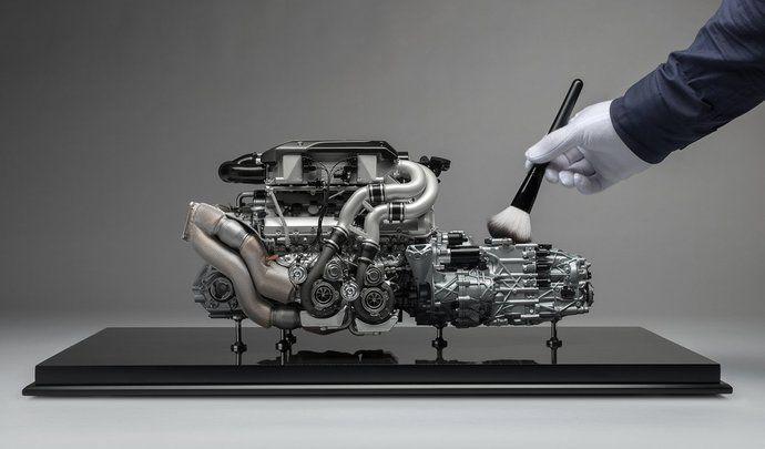 bugatti : le moteur de la chiron en modèle réduit, prix maxi