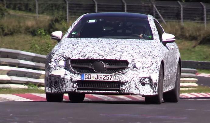 Scoop : la future Mercedes Classe E Coupé en sous-virage