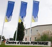 Michelin rénove son centre de test de Fontange