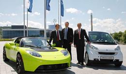 Tesla Motors et Daimler partenaires pour les voitures électriques