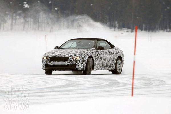 Spyshot : la prochaine BMW Serie 6 cabriolet en glisse sur la neige