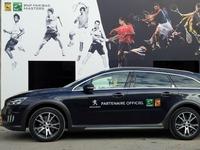 Peugeot partenaire de l'Open de tennis de Paris Bercy