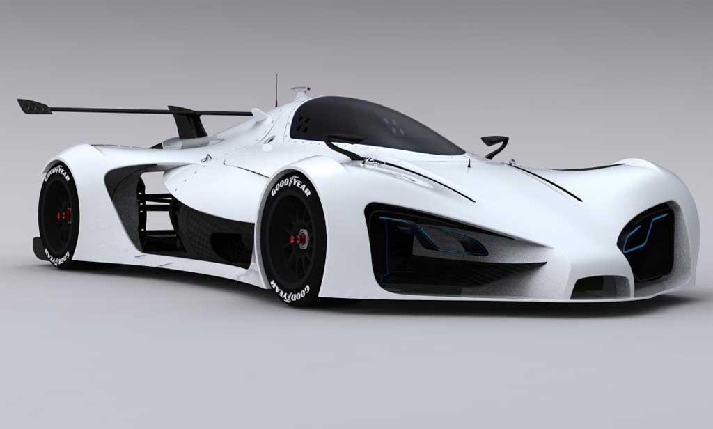 Un bolide lectrique pour les futures 24 heures du mans le concept greengt twenty 4 - Image voiture de course ...