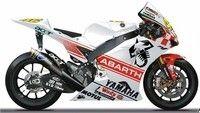 Yamaha YZR-M1 aux couleurs d'Abarth