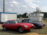 Photo du jour : duo de Jaguar au Mans