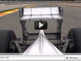 [vidéo] Embarquez dans la Sauber C30 et découvrez l'aileron arrière mobile