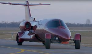 Un jet privé transformé en limousine