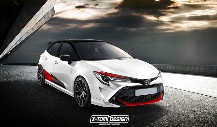 Une sportive Toyota Corolla GRMN dans les tuyaux