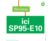 BP a déployé le carburant SP95-E10