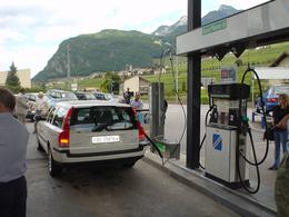 Le marché des véhicules au gaz naturel se porte bien en Suisse