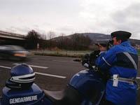 Augmentation des excès de vitesse en France
