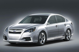 Subaru Legacy par l'Oeil de Lynx